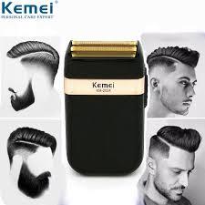 <b>Kemei Electric Shaver</b> for Men Twin Blade Waterproof Reciprocating ...