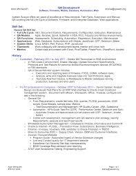 Entry Level Qa Tester Resume Examples Internationallawjournaloflondon