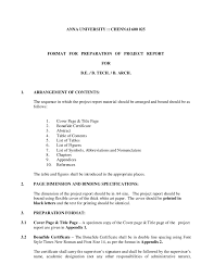project report sample how to write a project report project report format 06