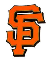 San Francisco Giants 3D Logo Wall Sign