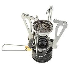 Progre <b>1pc Camping Stove Portable</b> Collapsible <b>Outdoor</b> Camp ...