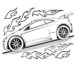 Small Picture Hot Wheels Coloring Pages Printable 12866 Bestofcoloringcom