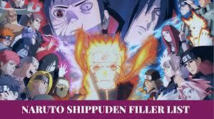 Naruto Shippuden Filler List – Naruto Shippuden Anime full Guide