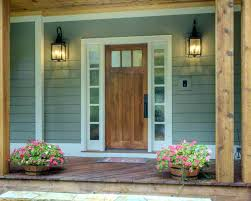 Modern Front Entry Front Entry Doors With Sidelights And Transom
