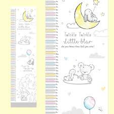 Details About Baby Hugs Kisses Height Chart Measures 50cm To 130cm