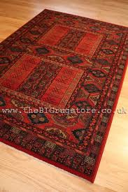 arbil 26541 red wool rug 300x400cm 9ft10x13ft2 larger image