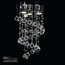hanging a chandelier captivating crystal hanging chandelier modern spiral crystal chandelier ceiling light pendant hanging hanging