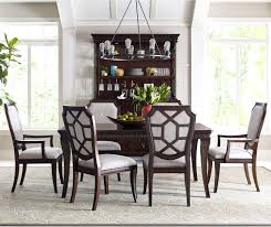 Dining Table And Chairs Set Elegant Wooden Broyhill Gray Darango