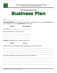 simple business model template docs simple business plan template samples proposal for