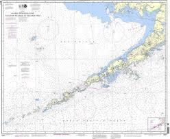 Alaska Nautical Charts Noaa Nautical Chart 16011 Alaska Peninsula And Aleutian