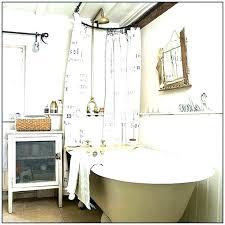 shower curtain clawfoot tub solution tub shower curtain rod tub shower curtain rod medium size of