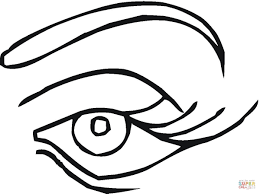 Small Picture adult eyes coloring page eyes coloring page for kids two eyes