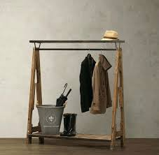 How To Hang A Coat Rack Without Studs New Decoration Coat Hanger Rack