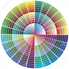 Color Palette Color Chart For Prepress Printing Color Theory
