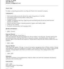 childcare resume download daycare resume child care worker resume skills