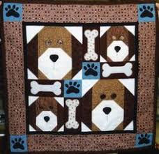 Dog Quilt Patterns Enchanting Dog Quilt Free Dog Quilts Ideas And Patterns Pinterest Dog