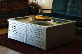 flat file reincarnates as coffee table