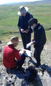 Геологическая практика в Каратау