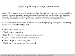 regional property manager cover letter In this file, you can ref cover  letter materials for ...