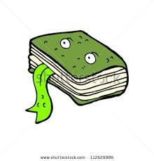 magic spell book cartoon