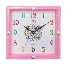 kotak square shape clock weight 340gm