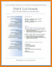 Resume Format Free Download Resume