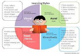 visual learner s bubble learning styles infographic