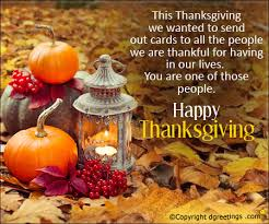 Happy Thanksgiving Quotes For Friends And Family Gorgeous Send Thanksgiving Wishes To Write In A Card Dgreetings