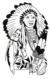 Native American Coloring Pages Printable Free New Viettiinfo
