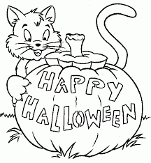 Small Picture Halloween Pictures To Print And Color Coloring Coloring Pages