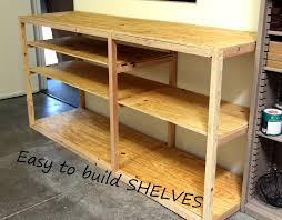 diy or garage shelf for storage and organization kreg pocket hole project you