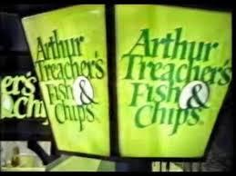 Arthur Treachers Fish Chips Commercial 1979