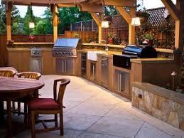 outdoor kitchen lighting. Image Via HGTV.com Outdoor Kitchen Lighting O