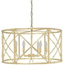 worlds away zia bamboo chandelier gold leaf asian inside bamboo chandelier