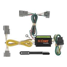 amazon com curt 55513 custom wiring harness automotive 7 pin trailer wiring harness at T Connector Wiring Harness