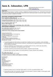 LPN Resume Writing Guide And Sample Sample Resumes Sample