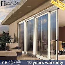 incredible sliding glass door security customized size bullet proof security frameless sliding glass door