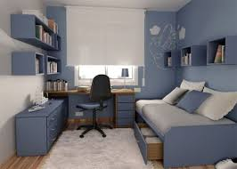office bedroom design. brilliant office teenage bedroom design with blue themes decoration  home interior  26748 and office a