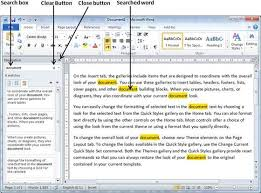 What Is Another Word For Document Find Replace In Word 2010