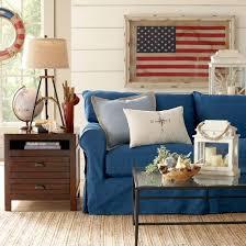 nautical living room furniture. blue slipcover sofa for a nautical living room httpwww furniture
