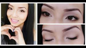 Natural asian eye makeup