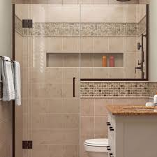 showers for small bathrooms 2. DreamLine D1283036-06 Unidoor-X 64 - 1/2\ Showers For Small Bathrooms 2