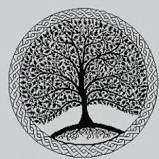 Celtic Tree Chart Details About Blackwork Celtic Tree 3 Cross Stitch Chart