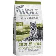 Avis clients sur Wolf of Wilderness Senior Green Fields, agneau pour chien    zooplus