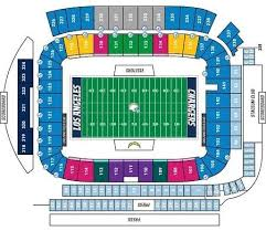 Los Angeles Chargers Seating Chart Los Angeles Chargers Tickets 51 Hotels Near Dignity