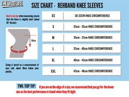 Knee Sleeve Size Chart How Should Knee Sleeves Fit Heres How You Can Measure
