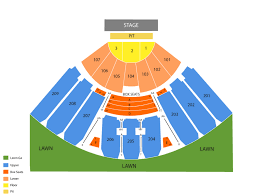 Concord Pavilion Seating Chart And Tickets