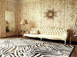 brown zebra rug s and white hide beige area brown zebra rug