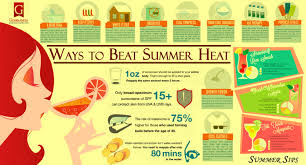 Ways to Beat Summer Heat | Visual.ly