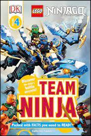 DK Readers L4: LEGO NINJAGO: Team Ninja: Discover the Ninja's Battle  Secrets! DK Readers Level 4, Band 4: Amazon.de: Saunders, Catherine:  Fremdsprachige Bücher